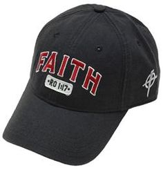 Magnet Faith Romans 1:17 #Cap - For high-quality, comfortable, and #God-honoring garments, look no further than Camp David Faith, an apparel line that believes the perfect way to express your faith is through your clothing. Combining creative graphics and Bible-based messages, Camp David Faith is your ultimate source for casual wear that stands out from the crowd!
