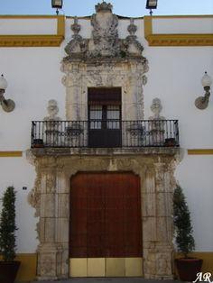 Ayuntamiento de Utrera, antiguo Palacio de Vistahermosa de Utrera