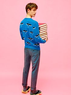 Maison Kitsuné pays tribute to its Japanese heritage with a collection inspired by Hayao Miyazaki's animated film The Wind Rises. The Fall/Winter 2016 lookbook was photographed by Pierpaolo Ferrari.