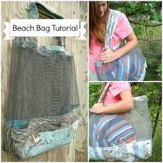 Mesh Beach Bag | FaveCrafts.com