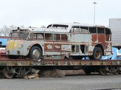 Vintage Bus. Not an RV yet, but how cool would it be if it was!