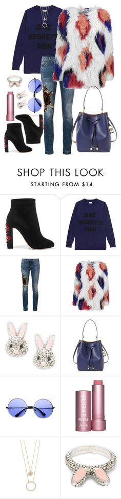 """je ne regrette rien"" by morningstaryasmine ❤ liked on Polyvore featuring Dolce&Gabbana, Orwell + Austen, Elizabeth and James, Kate Spade, Lauren Ralph Lauren and ZeroUV"
