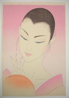 Japanese Lady, Japanese Culture, Love Illustration, Portrait Illustration, Orient, Japan Art, Fantasy Art, Artworks, Sculptures