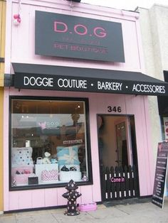 G Pet Boutique (Los Angeles); this is super cool:))