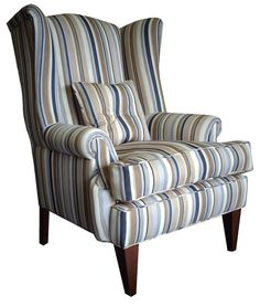 SS wing chair : by c