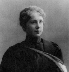 Harriet Brooks - Canada's first woman nuclear physicist and the first woman to study at the Cavendish Laboratory at Cambridge University in England.