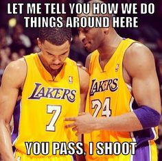 nba ref memes | Kobe Bryant Needs to Shoot The Ball Meme » NBA Memes