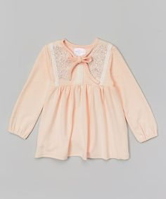 Love this Pink Floral Embroidered Tunic - Toddler & Girls by Blossom Couture on #zulily! #zulilyfinds