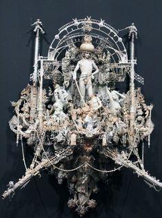 Kris Kuksi's 'Triumph' at Joshua Liner Gallery
