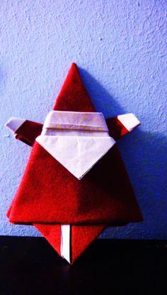 paper made Santa Arts And Crafts, Santa, Paper, Silver, Art And Craft, Art Crafts, Crafting, Money