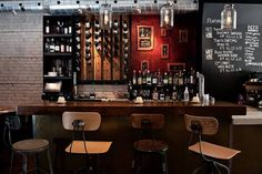 Best Pizza Places in Roncesvalles   The Bar at Pizzeria Defina