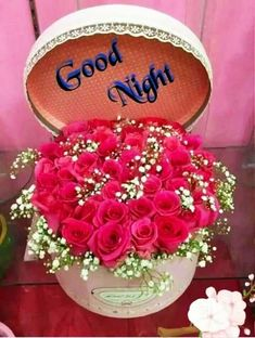 Good Night Images For Whatsapp Good Night For Him, Good Night Prayer, Cute Good Night, Good Night Friends, Good Night Blessings, Good Night Gif, Good Night Wishes, Good Night Sweet Dreams, Good Night Flowers