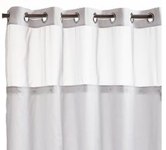 Fine Shower Curtain Rings Stainless Steel Bathroom Decorative Rustproof Metal Double Glide Shower Curtain Hooks Quality And Quantity Assured Shower Curtain Poles Home & Garden