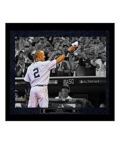 Derek Jeter All-Star Game Final Wave Framed Photograph #yankees