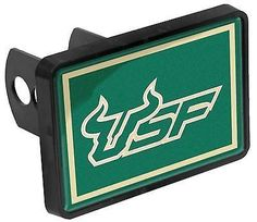 South Florida (USF) Bulls Universal 1-1/4 x 2 Inch Hitch Cover - The Skybox Store