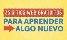 35Sitios web gratuitos para aprender algo nuevo