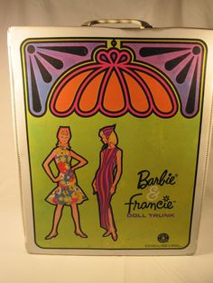 Barbie and Francie doll case 1965