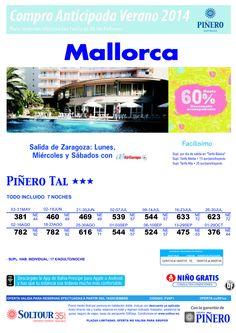 Mallorca, hasta 60% Compra Anticipada Hotel Piñero Tal, salidas desde Zaragoza ultimo minuto - http://zocotours.com/mallorca-hasta-60-compra-anticipada-hotel-pinero-tal-salidas-desde-zaragoza-ultimo-minuto/
