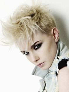 Punk Hairstyles   Short Punk Hairstyles For Curly Hair   The Hair ...
