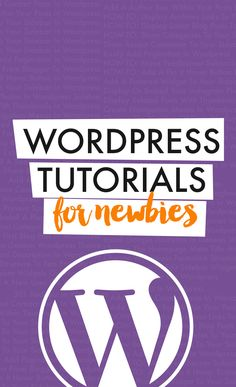 WordPress Tutorials + Tips for Beginners: 301 Redirect In Wordpress, Add A Cool Contact Form In Wordpress, Add A Author Box Within Your Posts In WordPress, HOW-TO: Display Latest Blog Posts In Your Sidebar In Wordpress, Show Recent Comments To Your Sidebar In Wordpress Easily Add Pagination In Wordpress, and more.