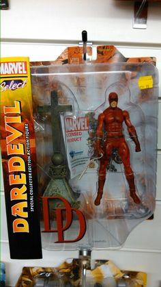Marvel select Daredevil figure.