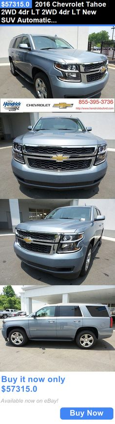 SUVs: 2016 Chevrolet Tahoe 2Wd 4Dr Lt 2Wd 4Dr Lt New Suv Automatic 5.3L 8 Cyl Slate Grey Metallic BUY IT NOW ONLY: $57315.0