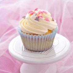 Cupcake a la vanille (in Italian)