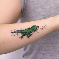 Origami T Rex Tattoo . Lovely origami T Rex Tattoo . origami Dinosaur Tattoo by Matt C Ellis Tatoo Tattoos 3d, Dream Tattoos, Mini Tattoos, Future Tattoos, Unique Tattoos, Body Art Tattoos, Small Tattoos, Tattoos For Guys, Tattoos For Women