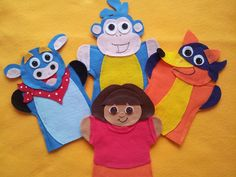 felt hand puppets - Google Search