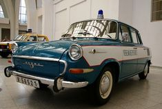 Emergency Vehicles, Police Cars, Red And Blue, Light Blue, Motorcycles, Vans, Retro, Motorbikes