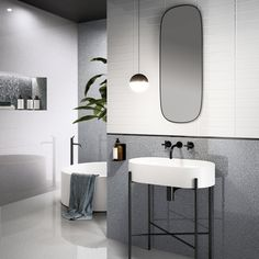 Venetian terrace Newdot: the art of recreating noble atmospheres in a contemporary key of a timeless tradition, with the unique style of Ceramica Sant'Agostino. Terrazzo, Guest Toilet, Modular Structure, Toilet Room, Bathroom Trends, Bathroom Faucets, Bathrooms, Contemporary Interior, Luxury Furniture