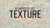 In this fourth installment of our Elements of Art series, we look at the how visual artists try to engage our sense of touch. Follow along and discover the myriad ways artists create and use texture.