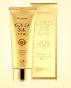 <TONYMORY> LUXURY Gem GOLD 24 K mask 100ml K-beauty pure gold contains #TONYMOLY