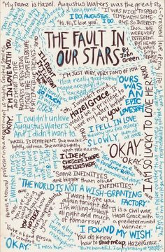 Little Piece of Tape - have students collect quotes from the novels they read and create a picture like this Star Quotes, Book Quotes, Idea Quotes, I Love Books, Books To Read, My Books, John Green, Tfios, The Fault In Our Stars