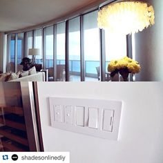#Repost @shadesonlinediy ・・・ These awesome charcoal grey #shades up and running with @lutronelectronics #thebathclub #miamibeach #lutron #windowtreatments #blinds #windows #remodel #instahome #decor #homereno #homeautomation #design #interior #interiordes