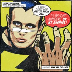 Your 80s alt-rock heroes become comic book villians | Creative Bloq