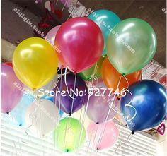 1.5g10インチ真珠の風船( 100pcs/lot) 印刷された漫画バルーン/結婚式の装飾的なパーティー風船/肥厚/卸売/青紫