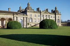 Houghton Hall, 18th Century house, considered one of the finest Palladian houses in Britain