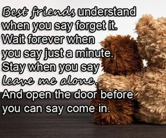 Your best friend is probably one of your most favorite people in the world. She's always there for you, she knows how to make you laugh even when you don't know how to make yourself laugh, she lets...