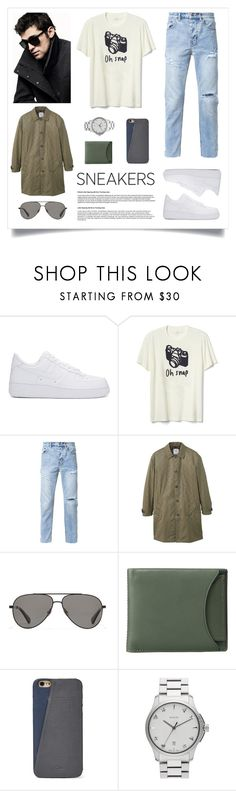 """Street Fashion"" by madeinmalaysia ❤ liked on Polyvore featuring DKNY, NIKE, Gap, Ksubi, MANGO, Vilebrequin, Skagen, FOSSIL, Gucci and men's fashion"