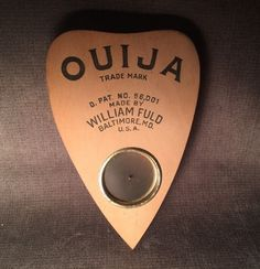 Rare VHTF Vintage Original William Fuld Wood Wooden Planchette for Ouija Board | Everything Else, Metaphysical, Psychic, Paranormal | eBay!
