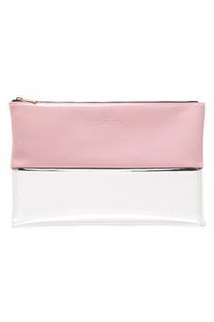 Universal Store TOKEN Colour Block Clutch Pink