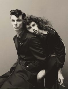 """""""Girls & Boys"""" Guido Palau for Vogue ItaliaLost Hairdressers 