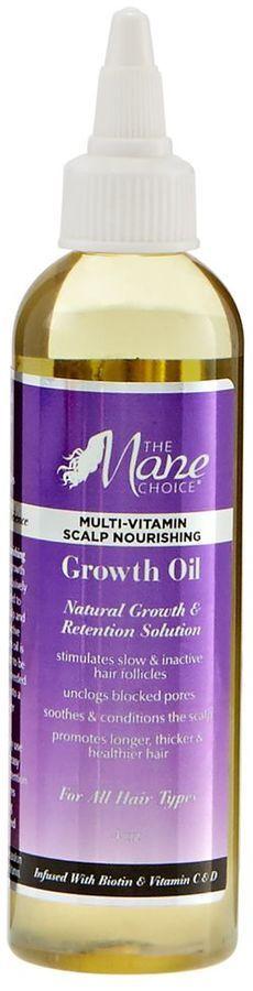 The Mane Choice Multi-Vitamin Scalp Nourishing Growth Oil #naturalhair #naturalista #teamnatural #naturalhaircommunity #aff