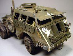 Dragon Wagon, M8 and M5A1 by Sohaib Talal (Tamiya 1/35)