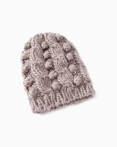 Chunky Cable Knit Beanie from RW Co. 96be1863f627