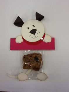 Punch Art - Dog with a cookie