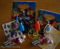 Stay at Home Territory: A Fourth Birthday Knight Party