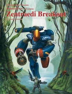 Robotech® Zentraedi Breakout, 1994 Edition - Palladium Books   Robotech RPG   DriveThruRPG.com