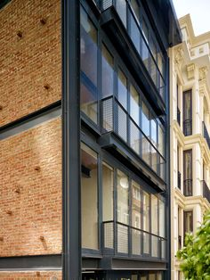 NoXX Apartment is located in a narrow dead end in Cihangir. Due to the location of the Project and the short timing for construction, conventional construction techniques seem unattainable, therefore a steel structure apartment building is designed with a